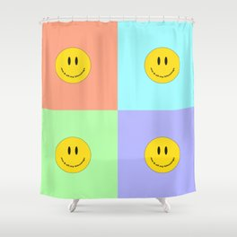 Me & All My Blessings - Pastel Shower Curtain