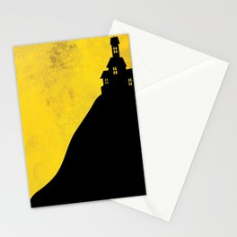 """""""Haunted Mansion"""" Halloween Poster Stationery Cards"""