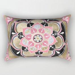 Elegant girly tribal mandala design Rectangular Pillow