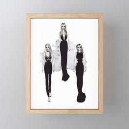 Fashionary 2 Framed Mini Art Print
