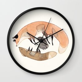 Apesanteur Wall Clock