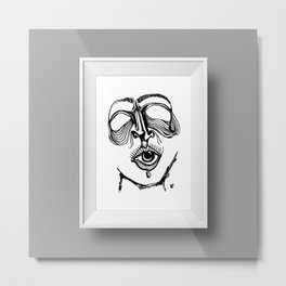 I tuoi occhi parlano Metal Print