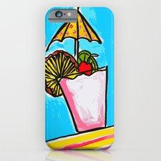 Miami Vice - Tropical Drink - Beach Cocktail - daiquiri iPhone 6 Slim Case