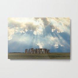 Stonehenge II Metal Print