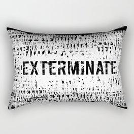 Exterminate 2 Rectangular Pillow