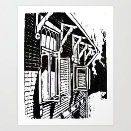 Jyringin Talo II Art Print
