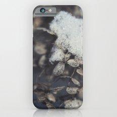 snow and hydrangea iPhone 6s Slim Case