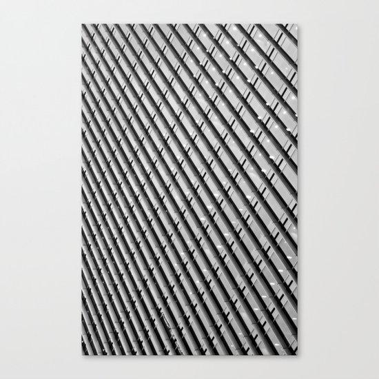 Canary Wharf  Abstract Canvas Print