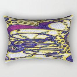 Burst of Life 2 Rectangular Pillow