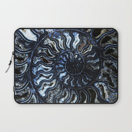 Blue Ammonite Laptop Sleeve