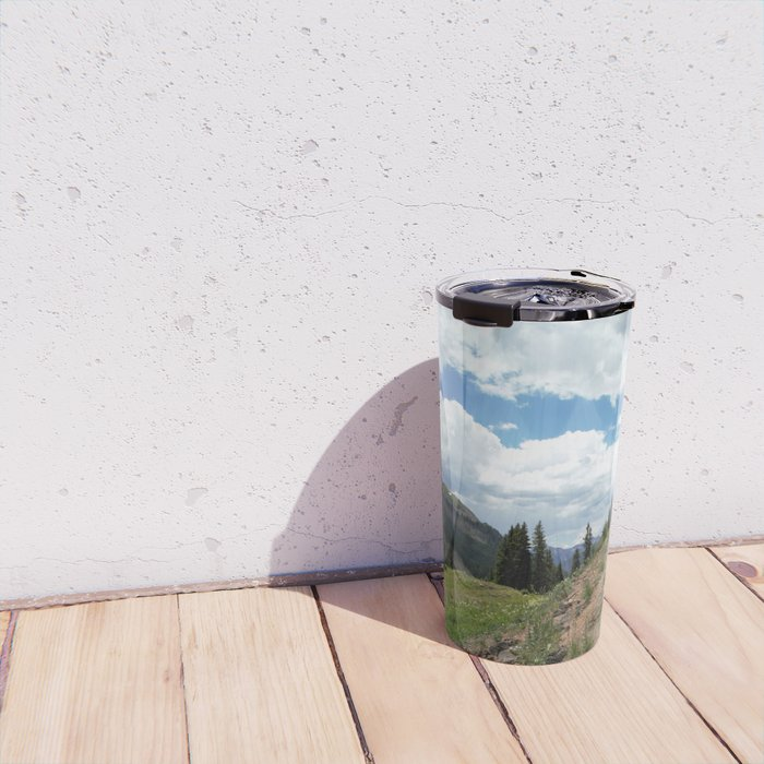 The Road of Life: Venture to Learn What's Around the Next Bend, and Prepare for Stormy Skies Travel Mug