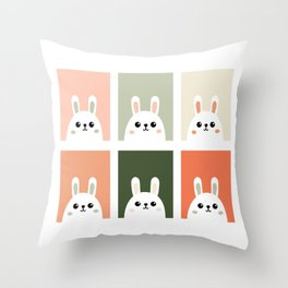 bunnys Throw Pillow