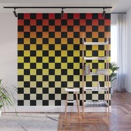 Chessboard Gradient IV Wall Mural