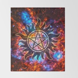 Supernatural Cosmos Throw Blanket