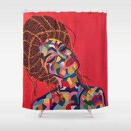 Fauve Lady 4 Shower Curtain