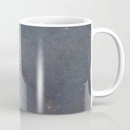 Starry sky with millions of stars, Milky Way galaxy, Antares Region Coffee Mug