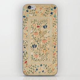 Uzbekistan Suzani Nim Embroidery Print iPhone Skin