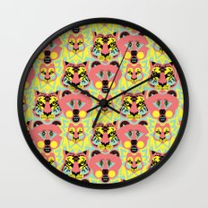 Modular Lions and Tigers and Bears. Wall Clock
