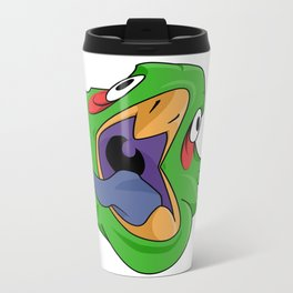 crazy bird Travel Mug