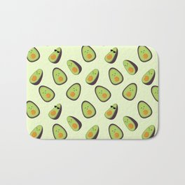 Happy Avocados Bath Mat