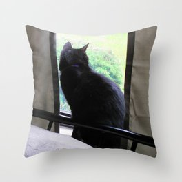 Gah, It's Raining Throw Pillow