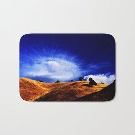 Orange Hill Bath Mat