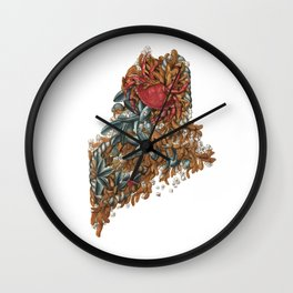 Maine (intertidal zone) Wall Clock