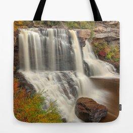Blackwater Autumn Falls Tote Bag