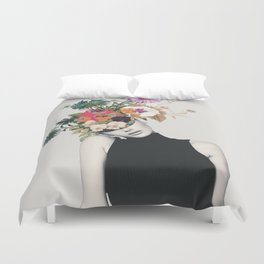 Floral beauty Duvet Cover