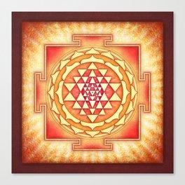 Sri Yantra XVI.I Canvas Print
