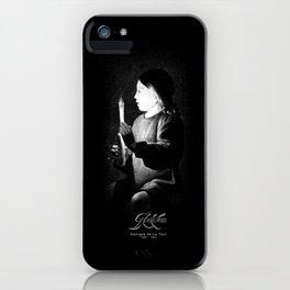 Georges de La Tour-Joseph the Carpenter-Detail-Painter-Barroque-painting iPhone Case