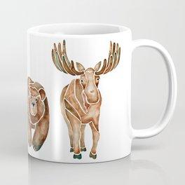Canadian Crew | Woodland Animals Nursery Art Coffee Mug
