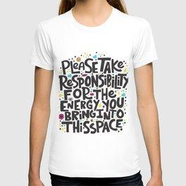 TAKE RESPONSIBILITY T-shirt