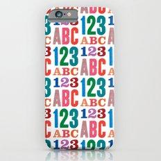 ABC 123 Slim Case iPhone 6s