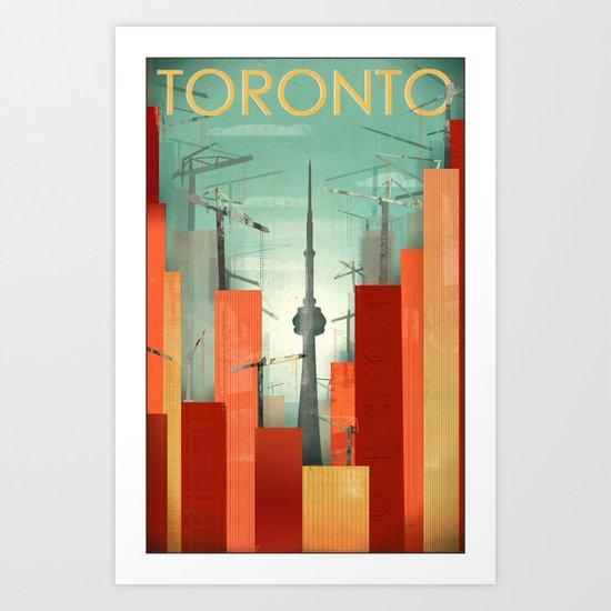 Toronto: Skyscraper City Art Print