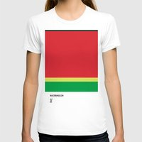 pantone T-shirts featuring Pantone Fruit - Watermelon by Picomodi