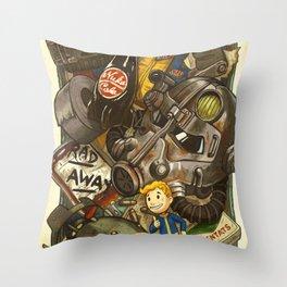 Wasteland Cache Throw Pillow