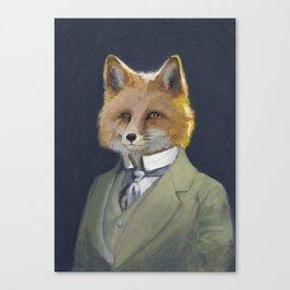 FOX FRIEND, by Frank-Joseph Canvas Print