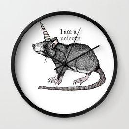 Unicorn Rat Wall Clock