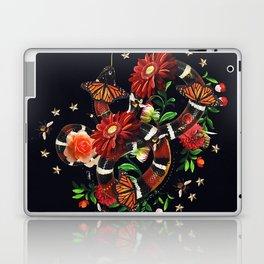 Snake Flowers Laptop & iPad Skin