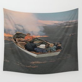 Boat ride Wall Tapestry