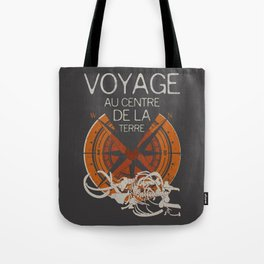 Books Collection: Jules Verne Tote Bag
