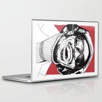 stevie nicks Laptop & iPad Skins featuring Stevie Wonder by Andy Christofi