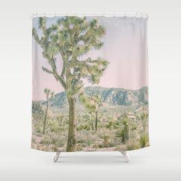 Joshua Tree Ombre Shower Curtain