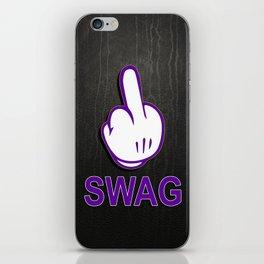 SWAG // F**K iPhone Skin