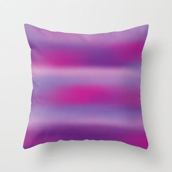 Purple Mist. Throw Pillow