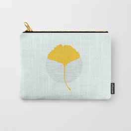 Yellow Ginkgo Carry-All Pouch