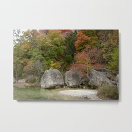 Lost Maples Metal Print