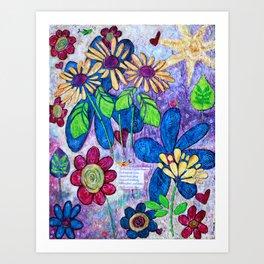 A Peaceful Melody Art Print