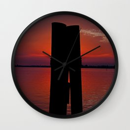 In the Crosshairs Wall Clock